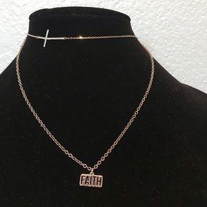 Beautiful FAITH necklace